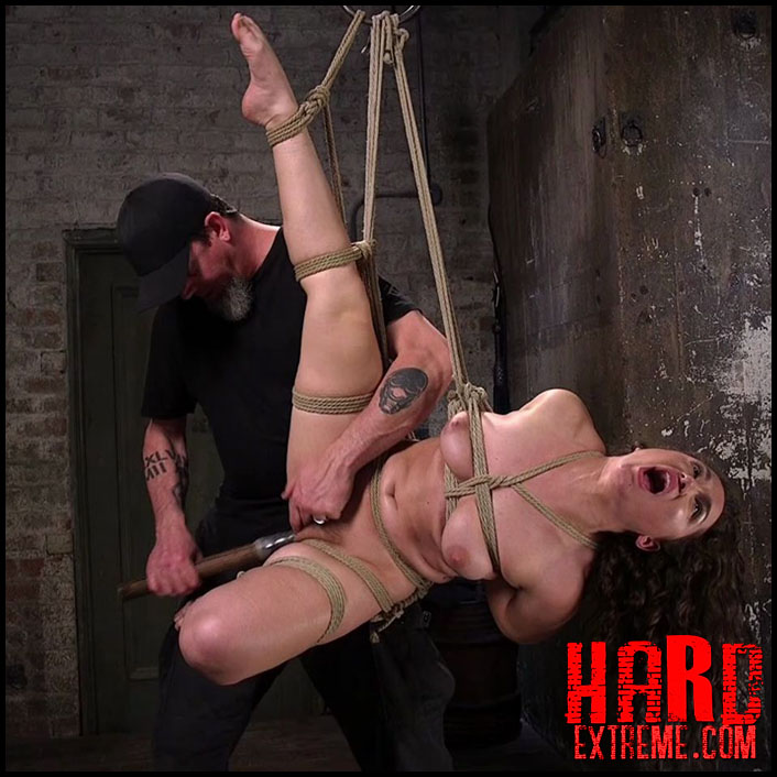 Hogtied - Super slut is subjected to brutal torment and bondage – Gabriella Paltrova