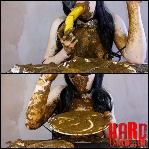 Anna Coprofield – Anna's Private Dinner Vol.2 / 3 Saved and 1 Fresh Shit part 3-4 – Full HD-1080p, pooping girls, shitting girls (Release May 16, 2017)