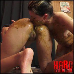 NewScatInBrazil – ASS'CAKE – Diana, Nicole – Full HD-1080p, MFX scat porn, lesbian scat domination (Release May 16, 2017)