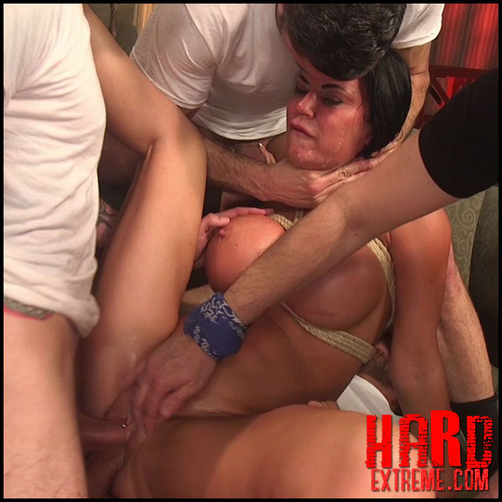 Extrem hardcore gangbang share your opinion