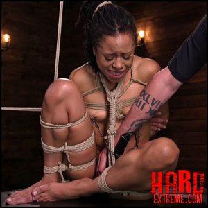 Brutal predicament bondage devastates Kira Noir – HD, rope bondage, vaginal penetration (Release May 26, 2017)