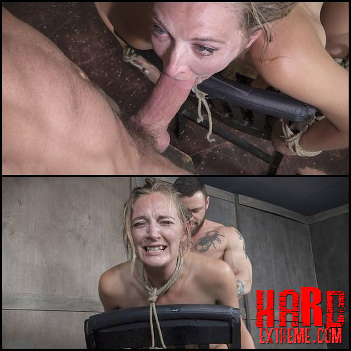 Mona Wales bars part 2 chair bound and brutally double fucked, squirting screaming deepthroat