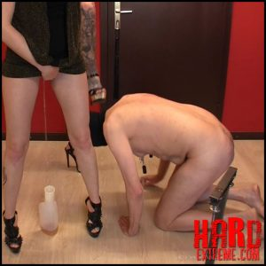 Scat-movie-world – Very cruel cbt and pee session – Full HD-1080p, femdom scat, human toilet (Release May 23, 2017)