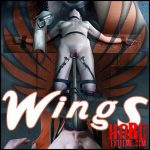 Insex – Wings – Sailor Luna – HD, labia, clamps, pussy bondage (Release June 26, 2017)