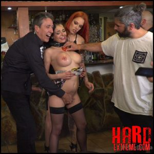 PublicDisgrace – Buxom brunette sophia laure belittled in barcelona – HD, corporal punishment, rope bondage (Release June 28, 2017)
