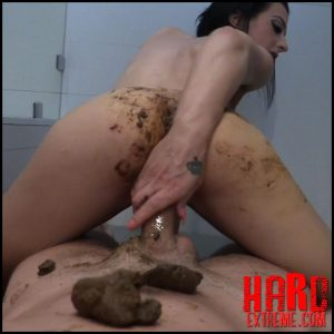 HotShit – Taking A Shit While Fucking – Full HD-1080p, extreme scat, scat swallow (Release June 1, 2017)