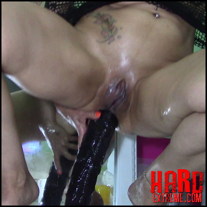 Anal deep long very dildo really