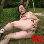 Chienne Mary French scat slut – Outdoor toilet slut – Full HD-1080p, extreme scat, extreme facial smearing (Release June 9, 2017)