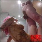 MessyChick – Trashing The Hotel Bathroom – Full HD-1080p, piss shower, pooping girls (Release July 06, 2017)