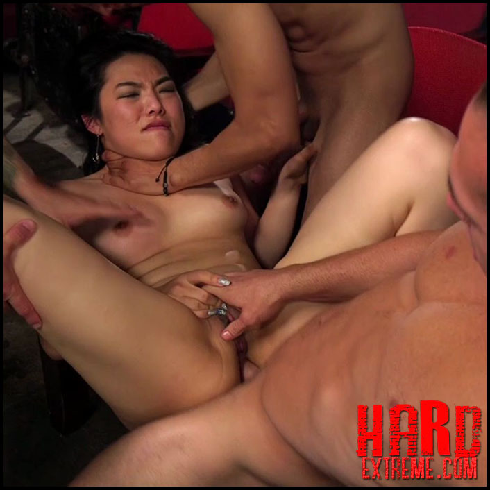 Does hard asiain gangbang not joke!