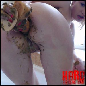 DirtyLena – Shity Anal with tasting poo – Full HD-1080p, kaviar scat, pooping girls (Release July 18, 2017)