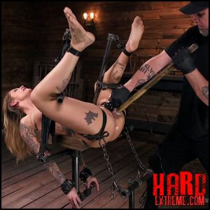 Blonde submissive bombshell kleio valentien gets punished and pleasured in strict bondage – HD,hitachi, gag, collar, sadism (Release July 02, 2017)