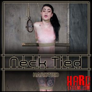 Neck tied – Lydia Black – HD, bondage, bdsm pain, extreme (Release July 20, 2017)