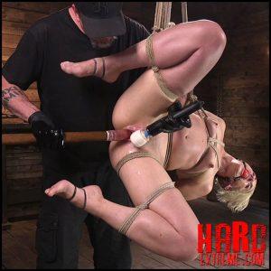 Hogtied – Blonde goddess is destroyed in devastating predicament bondage – HD, ball gag, the pope, handler (Release August 4, 2017)