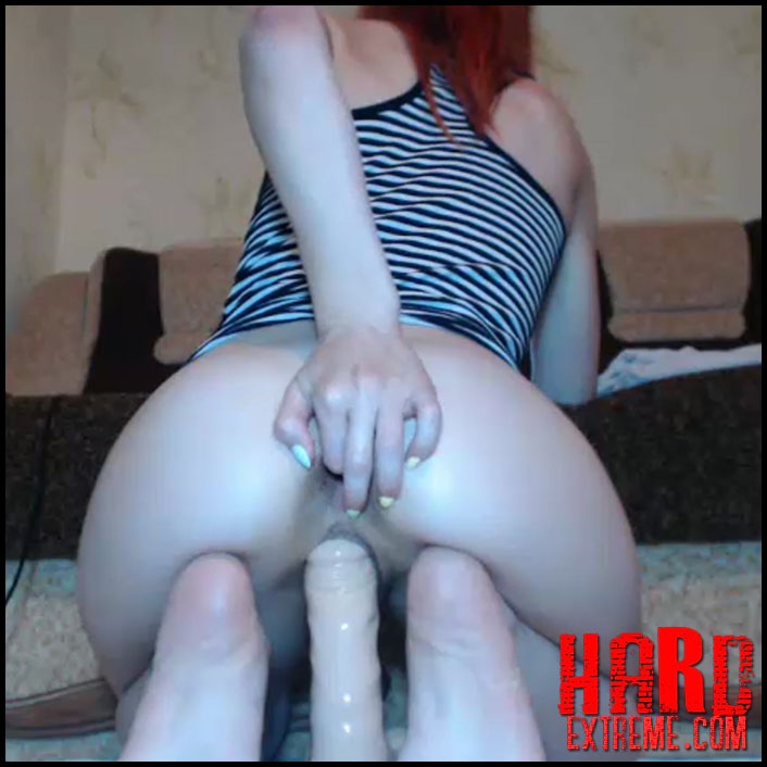 Solo Anal Dildo Ride Hd