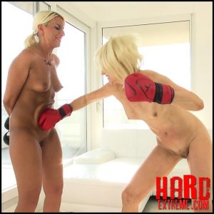 Queensnake – KO – Nazryana vs Holly – Full HD-1080p, Narzyana, Holly, boxing, punching, hairy (Release August 26, 2017)