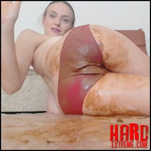 DianaSpark – Shit red panties – Full HD-1080p, Poop, poop videos, SCAT (Release August 12, 2017)