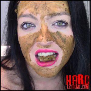 Evamarie88 – My Scat Story + Poo, Lick, Chew And Smear – Full HD-1080p, scat girls, pooping, poop videos (Release September 30, 2017)