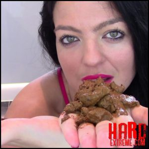 Evamarie88 – Eat My Shit Nasty Boy – Full HD-1080p, scatology, poop, shit, kaviar scat (Release September 27, 2017)