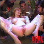 HardcoreGangbang – All natural redhead lauren phillips gets double anal from a gang bang – HD-720p, redhead, double vaginal (Release September 8, 2017)