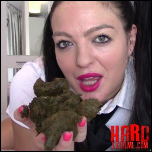 Evamarie88 – School Girl Toilet Slavery For Teacher – Full HD-1080p, scat solo, scat defecation (Release October 30, 2017)