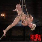 Hogtied – Blonde Buff MILF Helena Locke Made to Cum in Tight Rope Bondage – HD-720p, multiple orgasms, Blonde, Hitachi (Release October 17, 2017)