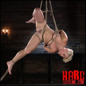 Hogtied – Blonde Buff MILF Helena Locke Made to Cum in Tight Rope Bondage – HD-720p, multiple orgasms, Blonde, Hitachi (Release October 17, 2017)