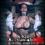 Infernal Reastraints – Held Accountable – Lily Lane – HD-720p, extreme bdsm sex, bondage extreme (Release October 08, 2017)