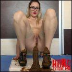 EllaGilbert – Cum over my full of shit heels – Full HD-1080p, pooping girls, shitting girls, shitting ass (Release December 20, 2017)