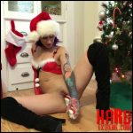 Badlittlegrrl – Christmas candy cunt – ON SALE till 12/31 – Full HD-1080p, Ass to Mouth, food masturbation, christmas (Release December 22, 2017)