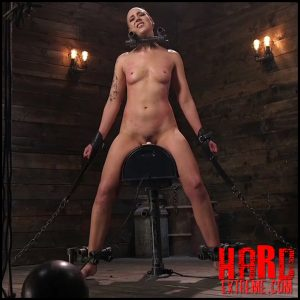DeviceBondage – Sex Slave Lilith Luxe Humiliated with Head Shaving and Coerced Orgasms – HD-720p, Fingering, Metal Bondage, leather (Release December 18, 2017)