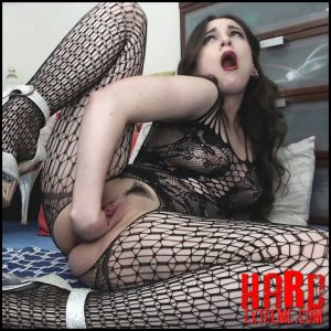 Kinky Casey – Fisting in a body stocking – Full HD-1080p, large toys, extreme pussy fisting, CRAZy (Release February 5, 2018)