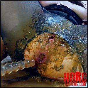 Anna Coprofield – Black Pantyhose Diarrhea Ass Spoiled – Full HD-1080p, shitting girls, shitting ass, scat girls (Release March 18, 2018)