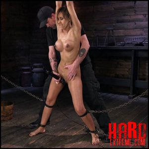 Busty Latina Slut Is Tormented in Grueling Bondage – HD-720p, Spanking, submission, Corporal Punishment (Release April 20, 2018)