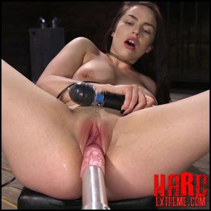 Newcomer Begs for More Machine fucking – HD-720p, Spanking, Vaginal Penetration, Machine Dildo (Release May 13, 2018)