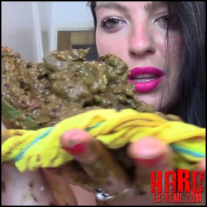 Evamarie88 – Huge Shit And Enema In Panties – Full HD-1080p, solo scat, porn amateurs, scat enemas (Release June 18, 2018)