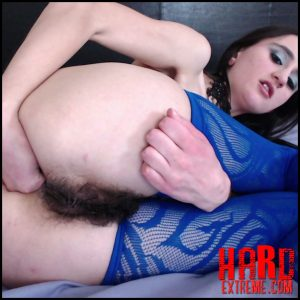 Nymph_Natalie – First Anal Fisting Experience – Full HD-1080p, gaping, farting, Hairy Bush (Release June 28, 2018)
