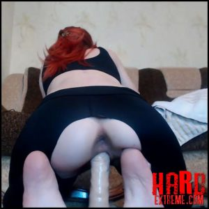 Russian redhead girl 1tinqerbell dildo rides and anal creampie – Full HD-1080p, pussy insertion, russian girl, webcam (Release July 10, 2018)