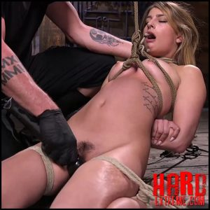 Girl Next Door in Brutal Predicament Bondage with Screaming Orgasms – HD-720p, Corporal Punishment, rope bondage (Release July 06, 2018)