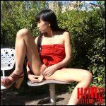 Littlesubgirl – Public Double Headed Dildo ALL IN ASS – Full HD-1080p, Anal Masturbation, Anal Play, High Heels, Long Hair (Release August 22, 2018)
