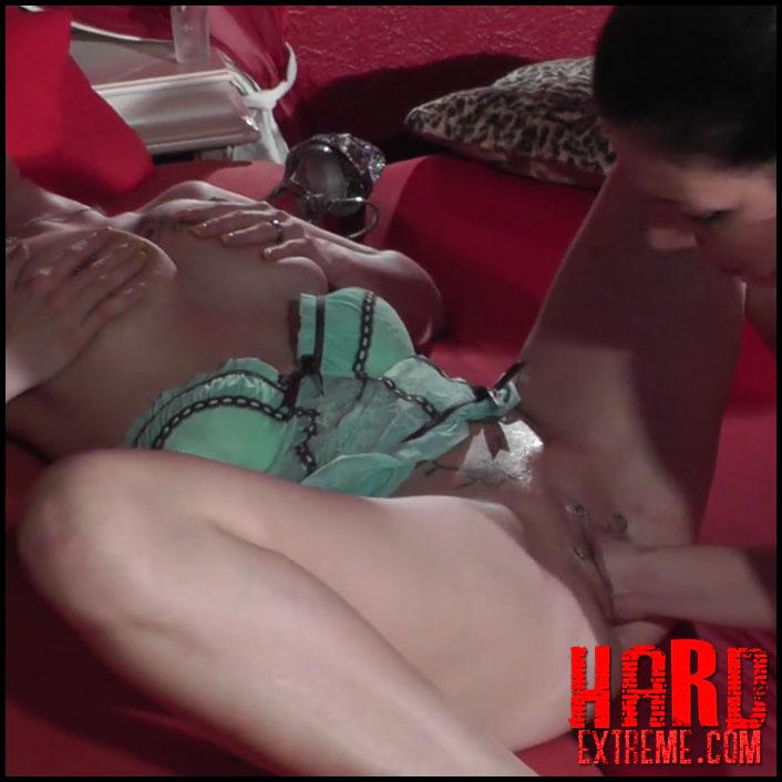 Mature Lesbian Punishes Teen