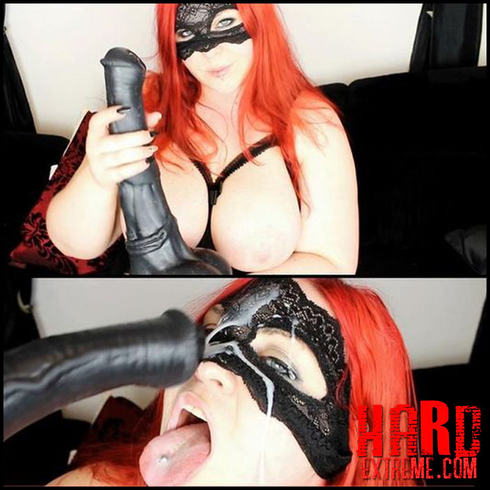 MinaDemonic – Titfuck & huge facial from big horsecock - Full HD-1080p, extreme porn, large toys, big horse dildo (Release August 23, 2018)