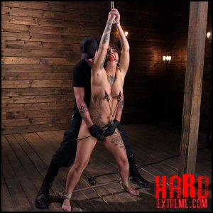 Tattooed Slut Is Tormented In Bondage And Made To Cum – HD-720p, Ball Gag, Nipple, Clamps, The Pope, Handler (Release August 17, 2018)