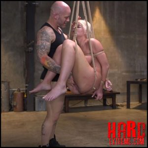 Pain Slut MILF London River Brutalized with Rough Sex and Rope Bondage – HD-720p, submission, Corporal Punishment, rope bondage (Release August 03, 2018)