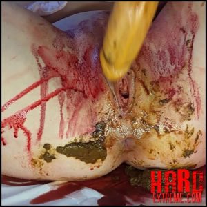 Anna Coprofield – Shit and Blood Vol.4 Part 2 – Full HD-1080p, kaviar scat, pooping girls, shitting girls (Release September 24, 2018)