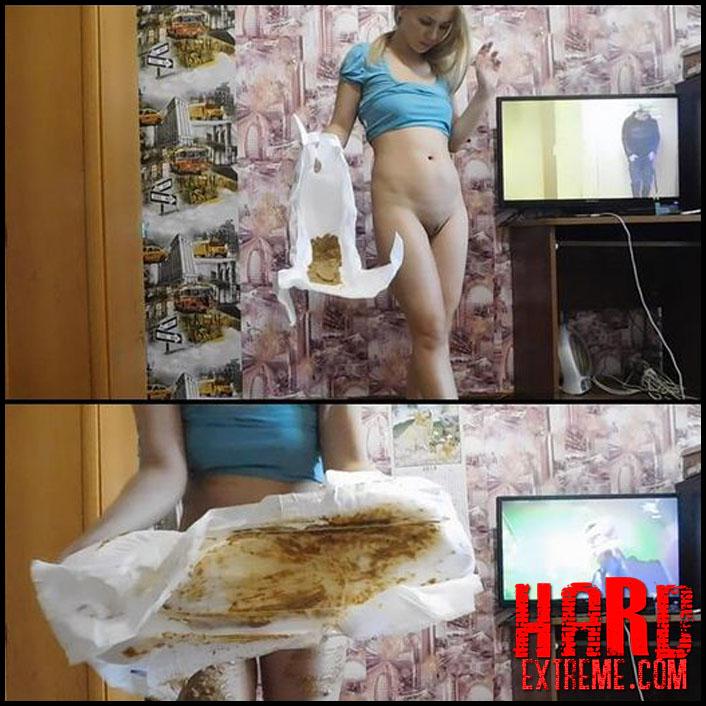 KatyaKASS - Smear of poop and dance - Full HD-1080p, shitting girls, shitting ass, scat girls (Release September 03, 2018)