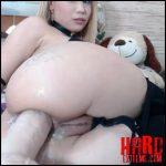 Natashaa_10 – black butplug and big dildo in sweet anus – Full HD-1080p, closeup, dildo anal, huge dildo, teen anal (Release September 09, 2018)