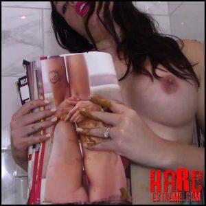 Evamarie88 – Scat Magazine Play – Full HD-1080p, scatology, poop, shit, kaviar scat (Release November 09, 2018)