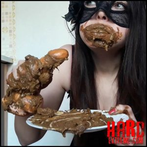 ScatLina – Eat shit and fuck myself – Full HD-1080p, amateurs scat, dirty anal, scat porn (Release November 29, 2018)