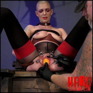 Abigail Dupree – Veggie Orifice Stuffed slave – Full HD-1080p, SensualPain BDSM, Download porn, Extreme fisting (Release December 03, 2018)